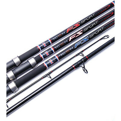 Leeda Icon FS Sport Continental Long Surf Rods 14ft, 15ft or 16ft
