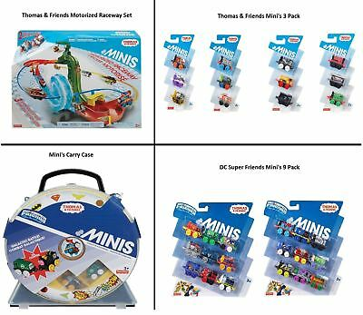 Thomas & Friends Minis Trains DC Friends Case and Motorized playset