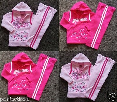 Girls Kids Children Tracksuit Hoodie Jacket Outfit Clothing Girl Suits 1-10 Yrs