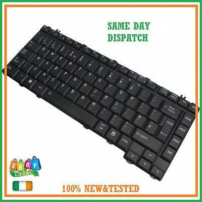 New UK Layout Keyboard for Toshiba Satellite A200 A205 L300D A300D L305 Black