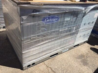 Carrier 5 Ton Heat Pump High Efficiency Packaged Unit 230V 3Ph Electric 50Hcqa06