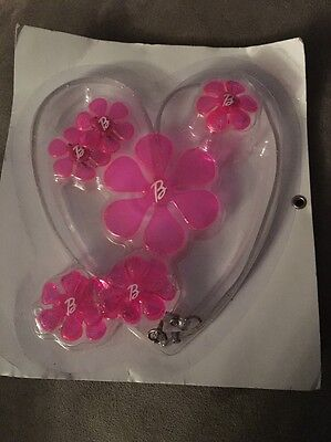 Little Girl's Barbie Jewelry Gift Set Necklace Earrings Ring & More