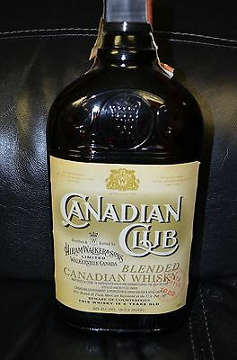 Canadian Club Limited Edition Gate Bottle