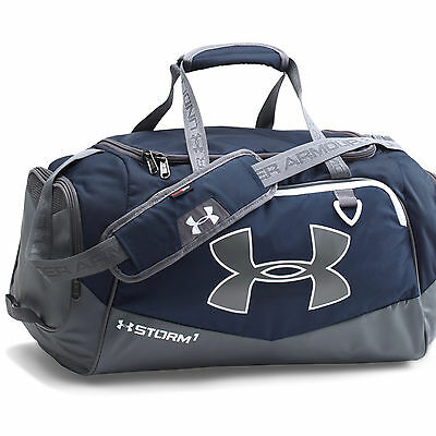 Under Armour Storm Undeniable II Duffel Sports Bag Small Navy Blue