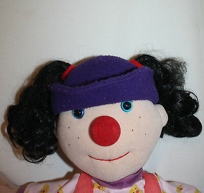 Big Comfy Couch LOONETTE Clown Doll PLUS 24 Songs Sealed Plush Large 20 Inch
