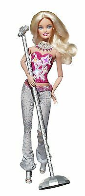 Doll, Barbie Fashionistas - Hollywood Divas - with Light and Sound.