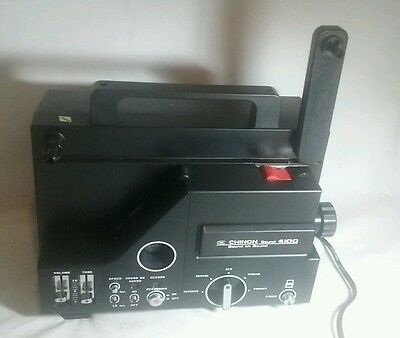 Chinon 4100 Variable Speed Super 8mm Sound Movie Film Projector