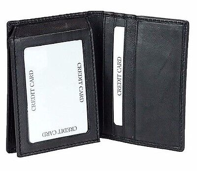8446fd218b NEW MEN S GUESS Cruz Leather Credit Card Wallet Trifold 0965-01 ...