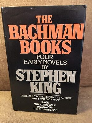 The Bachman Books Hardcover Stephen King HC DJ Book First Edition!