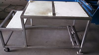 Stainless Steel Polytop Table (7234)