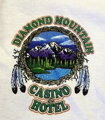Diamond Mountain Indian Casino Susanville CA 21st Anniv T-Shirt Lg Dream Catcher