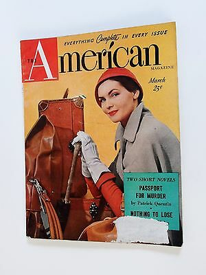 Vintage The American Magazine Back Issue March 1950