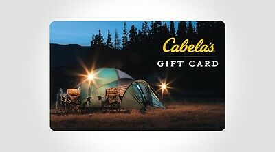$100 Cabelas Gift Card For $89