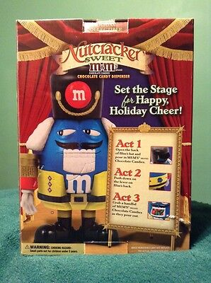 Nutcracker Limited Edition Holiday Collectible M&M Candy Dispenser NEW