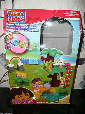 Boxed***dora Mega Bloks Rainbow Rock Adventure***3002 Complete Set