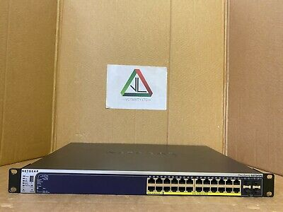 Netgear ProSafe GS724TPS 24-Port Stackable Smart Gigabit Switch with PoE