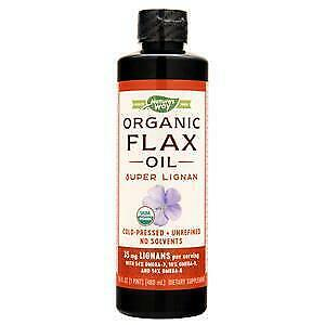 Nature's Way EFA Gold Flax Oil - Super Lignan (Organic)  16.5 fl.oz