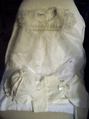 Vintage Baby Clothes And Shoes  For Easter