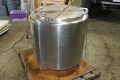 Groen EE-40 Floor 40 Gallon Insulated Jacketed Steam Soup Kettle