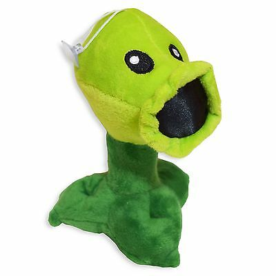 Plants vs Zombies Peashooter Plush Toy - NEW - FREE FAST USA SHIPPING