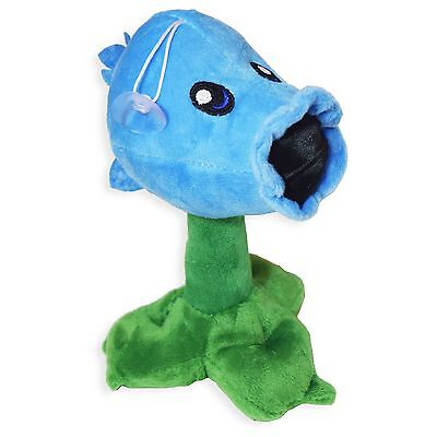 Plants vs Zombies Ice Snow Peashooter Plush Toy - NEW - FREE FAST USA SHIPPING