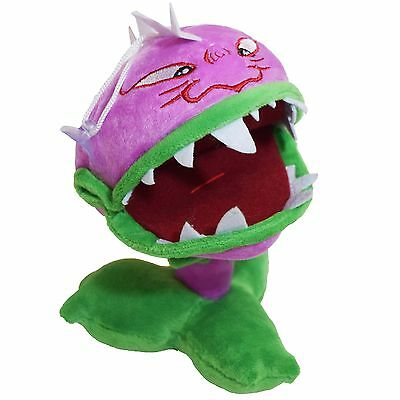 Plants vs Zombies Chomper Plush Toy - NEW - FREE FAST USA SHIPPING