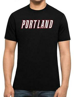 Portland Trail Blazers New Era Team Logo T Shirt Mens