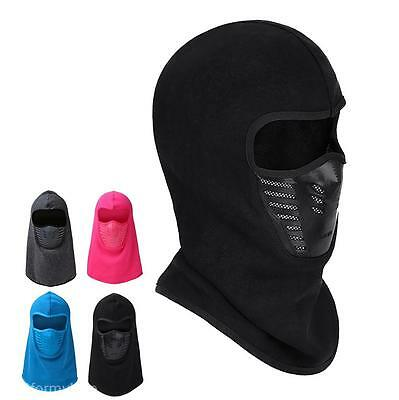 Windproof Motorcycle Neck Helmet Cap Cycling Hike Hat Fleece Balaclava Face Mask