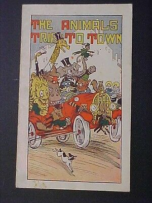 HIRES ROOT BEER Household Extract THE ANIMALS TRIP TO TOWN Booklet