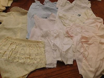 Lot Mixed Vintage/ Old Clothes/ Infant/baby/doll
