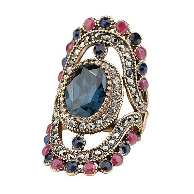 Hot Hurrem Style Womens Statement Ring Turkey Inspired Fashion Ring Jewelry NEW
