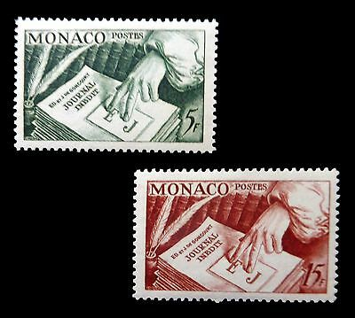 MONACO 1953 Newspaper (2) SG473/4 U/M NB197