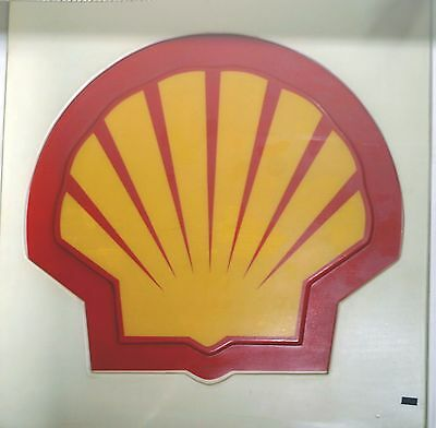 SHELL Gas Oil SIGN Gas Pump Station Collectible Vintage Petroliana Gasoline USA