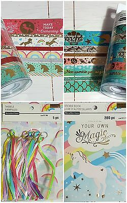 Recollections Enchanting Unicorn and Mermaid Paper Crafting Planner Enchanted