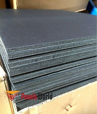 60 x A4 Size Black Paper foam board Craft DIY interior Design