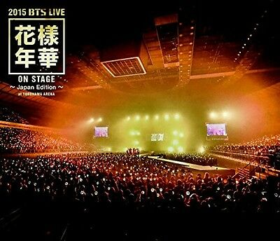 Bangtan Boys 2015 BTS Live In the Mood for Love on stage Japan Edition Blu-ray