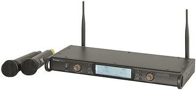 Pro 2 Channel 2.4GHz Digital Wireless Microphone/5 Hours Battery Life