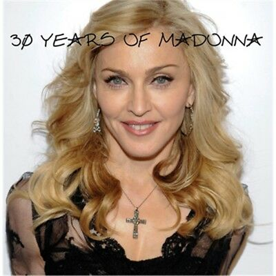 MADONNA 30 years of hits 2LP coloured PICTURE SLEEVE unofficial LTD 1000 COPIES