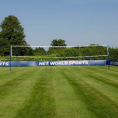 Socketed Volleyball Posts [+ 32ft Net Option] [Net World Sports]