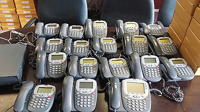 Avaya IP Office 500 V2 Phone System w/Voicemail & 18 Digital Sets