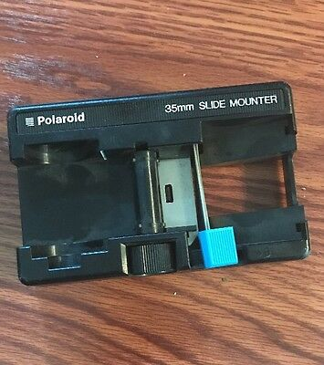 Polaroid Slide Mounter 35mm Slide Film Cutter USED