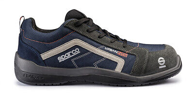 SPARCO URBAN EVO shoes Racing Boots Race Sport Rally Mechanics S1P NEW Black