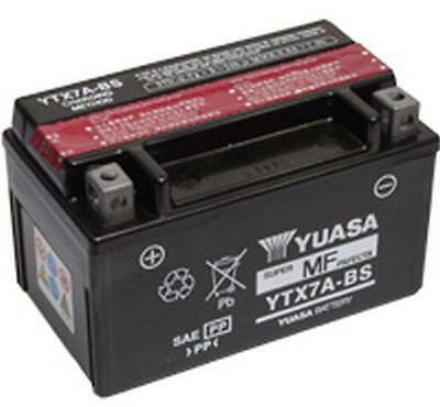 Genuine Yuasa YTX7A-BS Motorcycle Motorbike Battery 12V 6Ah