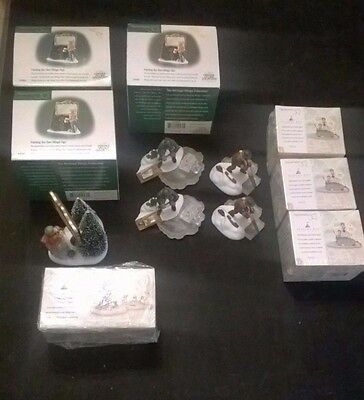 HUGE LOT of 12 ~  Dept 56: Heritage Village Collection NEW and Display