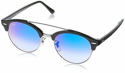 Ray-Ban RB4346 62507Q Black Frame Blue Gradient Flash 51mm Lens Sunglasses
