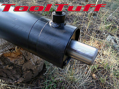 "28 30 Ton OEM Hydraulic Log Splitter Cylinder 4.5"" Bore x 24"" Stroke Double Act"