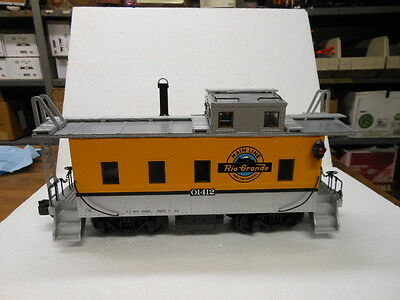 Aristocraft G-Scale Long Steel Caboose-D&RGW Rio Grande 42103