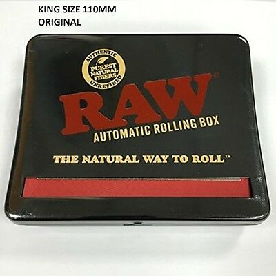 CHEAPEST NEW ORIGINAL RAW AUTOMATIC ROLLING BOX  Smoking Roller 110mm King Size