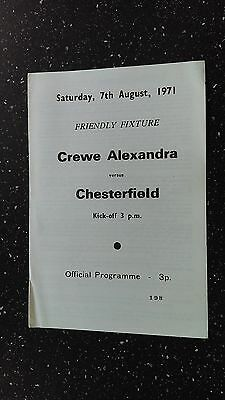 Crewe Alexandra V Chesterfield 1971-72