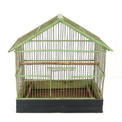 """16"""" Antique Stick Birdcage Chinese? Great Form and Patina, Pagoda Rare Wind Rose"""